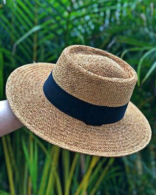 Woven Brim Hat (PRE-ORDER)