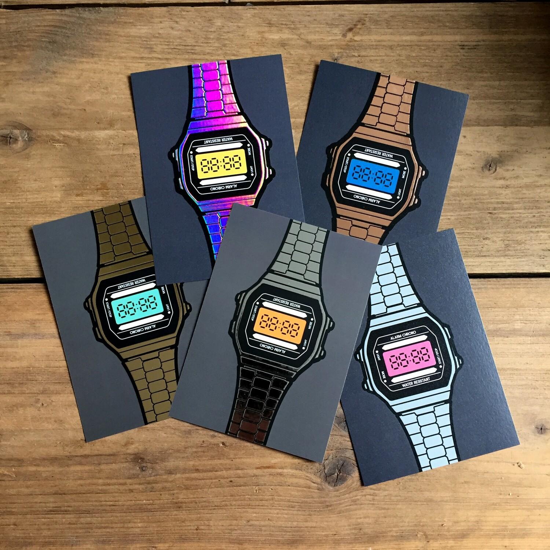 SET A6 - 5x Watches