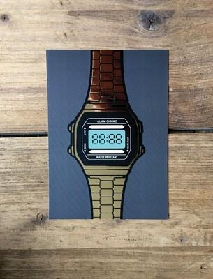 A6 Watch card