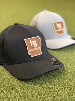 Heights Golf Curved Performance Hat