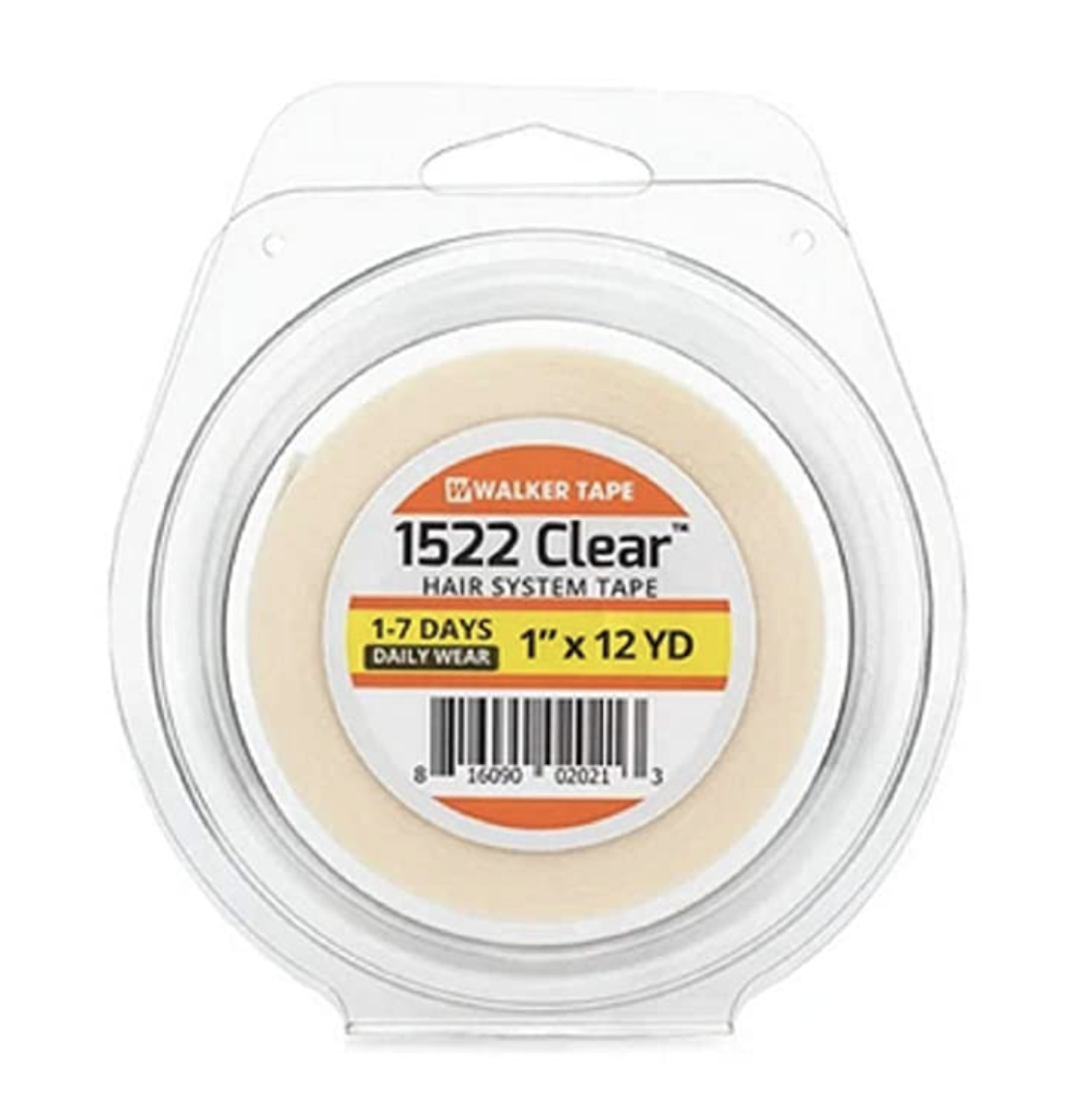 1522 CLEAR Tape -  3/4