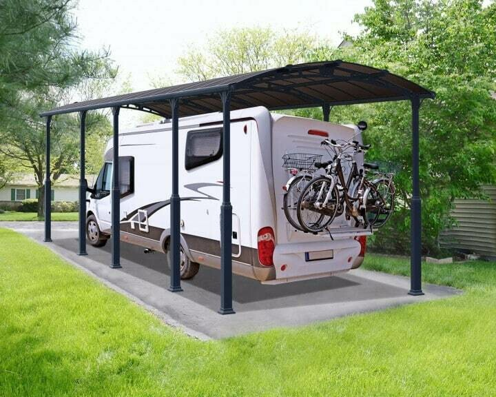 Elite Extra-Height Arched Carport