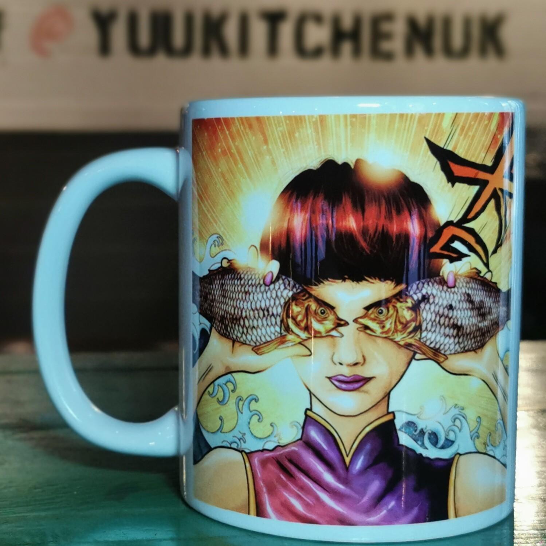 Fish Eyed Mug
