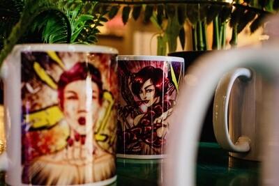 Set of 2 Manga Mugs