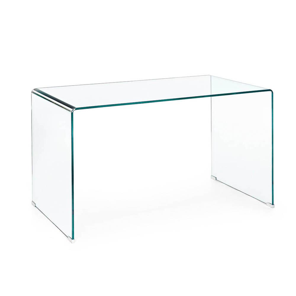 Secretária em vidro
