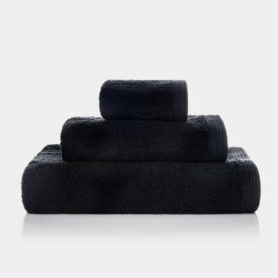 Conj. 3 Toalhas New Plus Black
