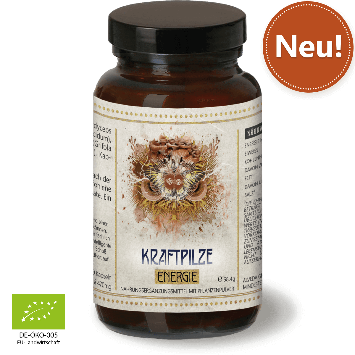 Vitalpilze Energie – Immun-Modulator für Aktive