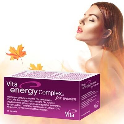 Vita Energy Complex for women 90 Kapseln