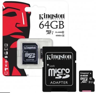 Carte Micro SD 64GB