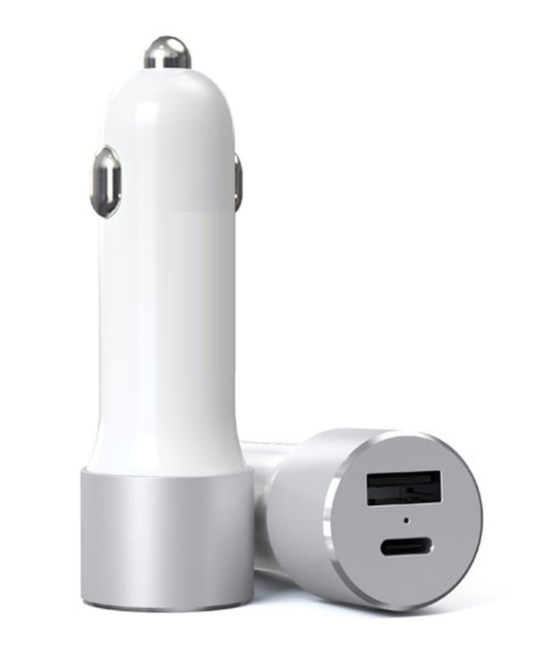 Chargeur allume-cigare USB Type A et USB Type C