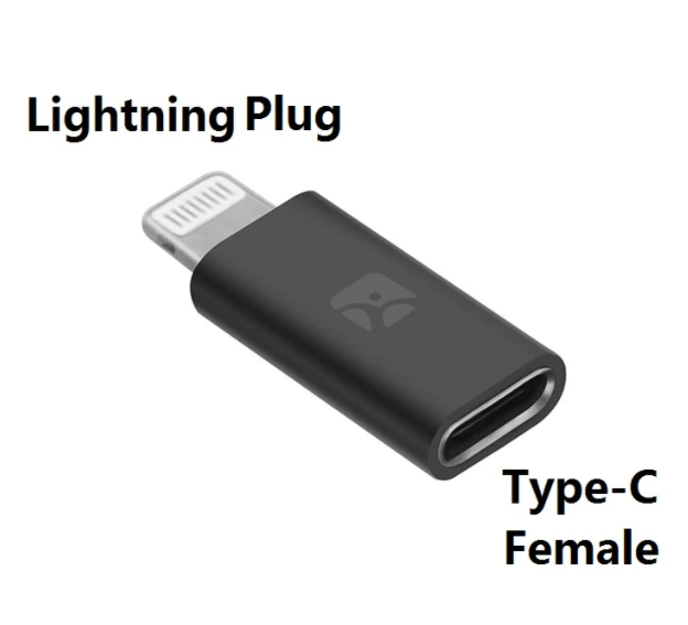 Adaptateur Lightning Femelle vers USB Type C