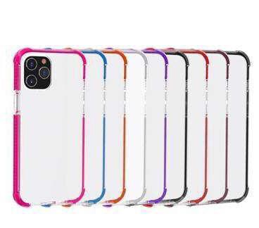 Coque face arrière transparente en silicon Iphone/Samsung