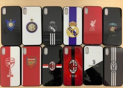 Coque face arrière en silicon Football Iphone/Samsung