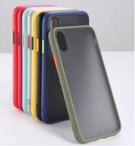 Coque face arrière en silicon multicolor Iphone/Samsung