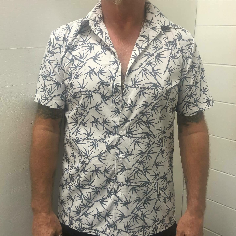 Men's Shirt Bamboo Design
