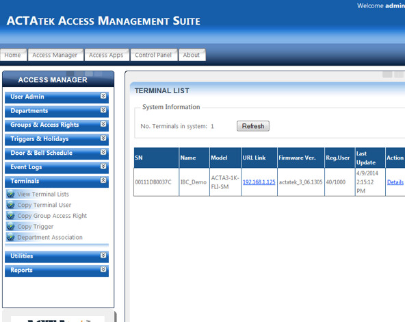 ACTAtek Access Manager