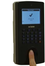 Bio-Clock Fingerprint and Pin (Includes 2 Year Warranty)