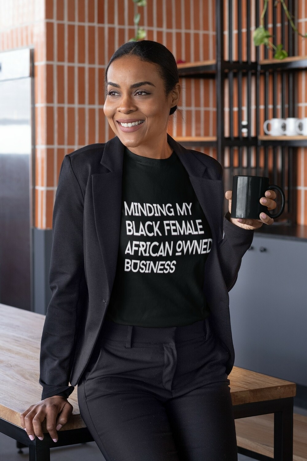 The 'Minding My Black Female African/Caribbean/ British Owned Business' T-Shirt