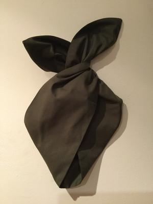 Plain khaki wired hairband