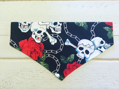 Skull And Roses Doggy Be Bop