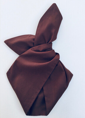 Plain Brown Wired Hairband