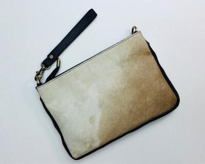 Animal Skin Zip Design Bag