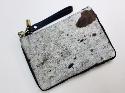 Animal Skin ,zip Design Handbag