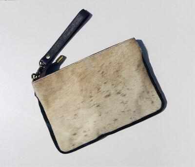 Animal Skin,zip Design Crossbody Bag
