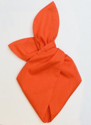 Plain Orange Wired Hairband