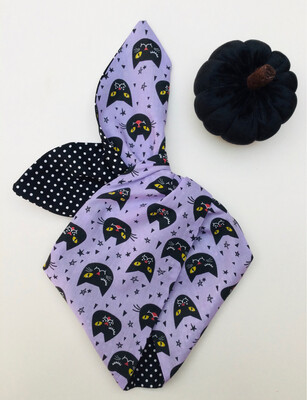 Lilac Witches Cat Wired Hairband