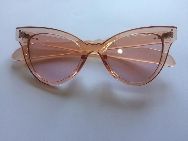 Pale pink sunglasses