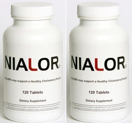 NIALOR® 2-pack (240 Tablets) - GUARANTEED RESULTS