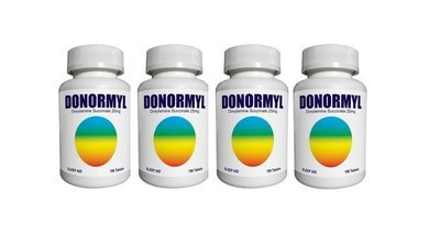DONORMYL® 25mg, 4x96 Tablets -- Limit 3 per order