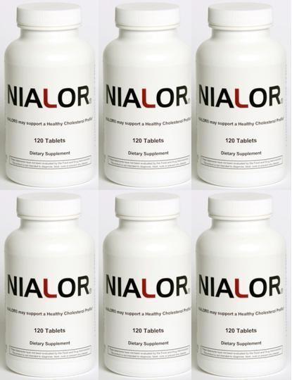 NIALOR® 6-pack (720 Tablets) BEST VALUE  -- Limit 2 per order