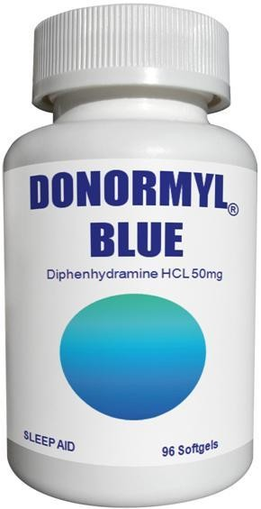 DONORMYL® BLUE 50mg, 96 Softgels