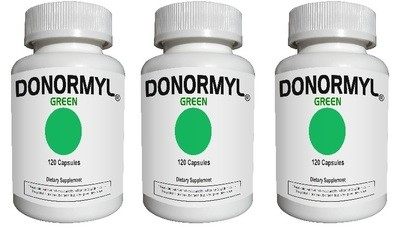 DONORMYL® GREEN, 360 Capsules