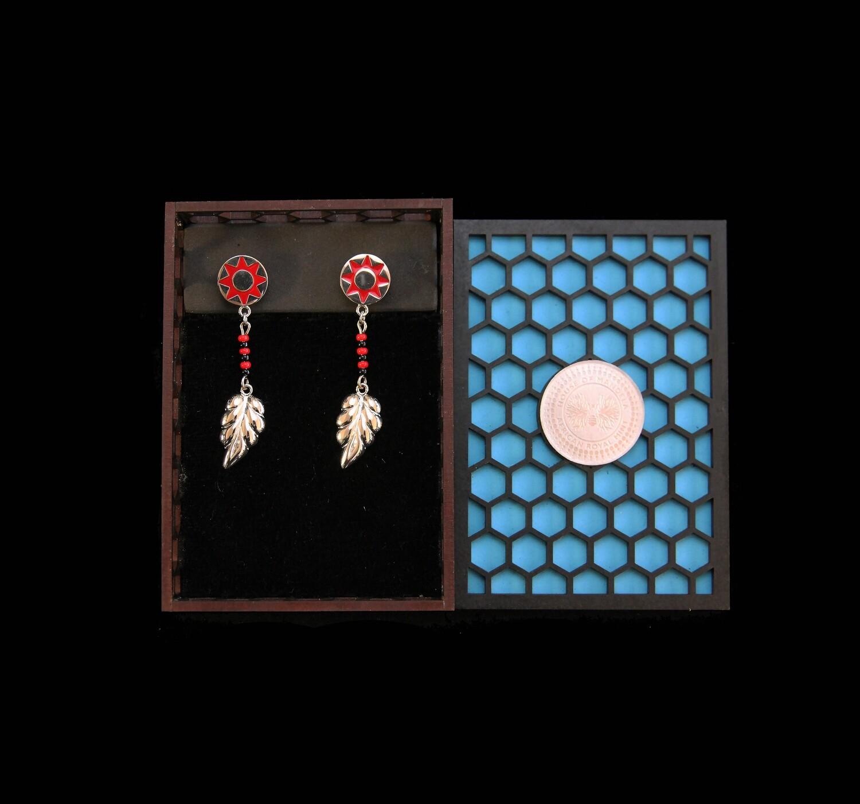 House of Mandela Africa Inspired Earrings