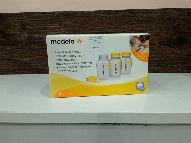 Medela Breast Milk Bottles 3 bottles