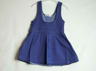 Denim Girl Skater Dress