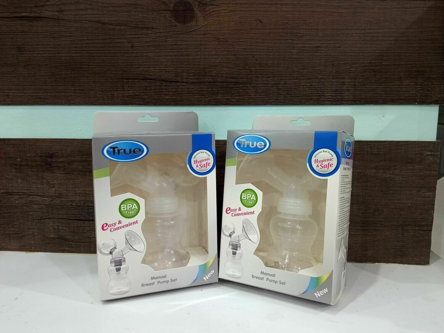 True manual breast pump
