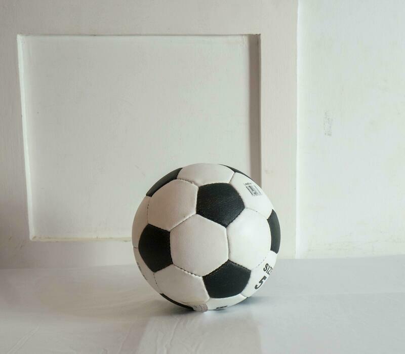 Wavemart leather ball