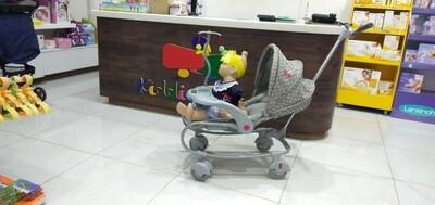 Single push stroller
