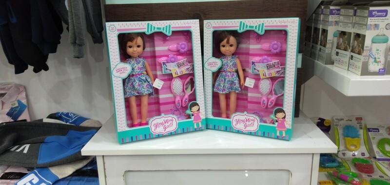 Ying ming girl doll