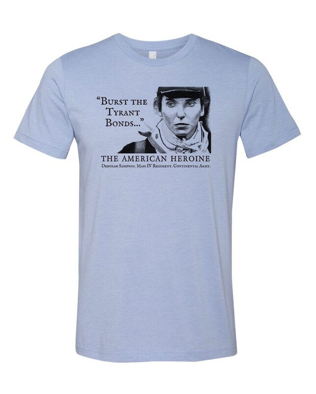 American Rebel T-Shirt Heather Blue