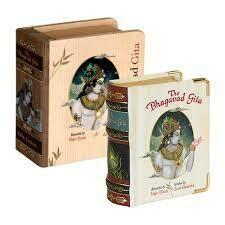 Bhagavad Gita Wooden Gift
