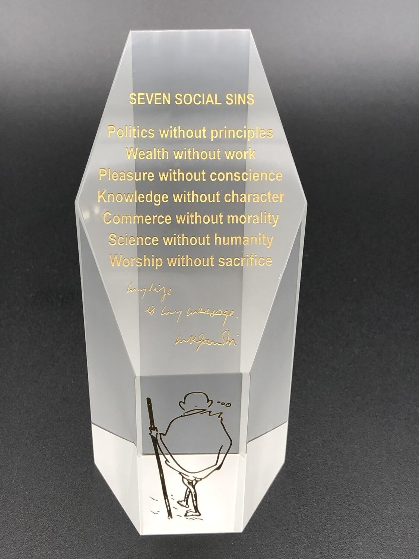SEVEN SOCIAL SINS MULTI  BLOCK 479