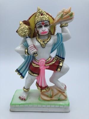 "Hanuman Pahad Gold Emboss-12"""