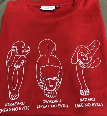 T-Shirt Wise Monkeys Size 34