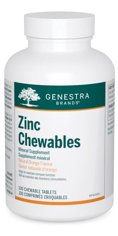Zinc Chewables
