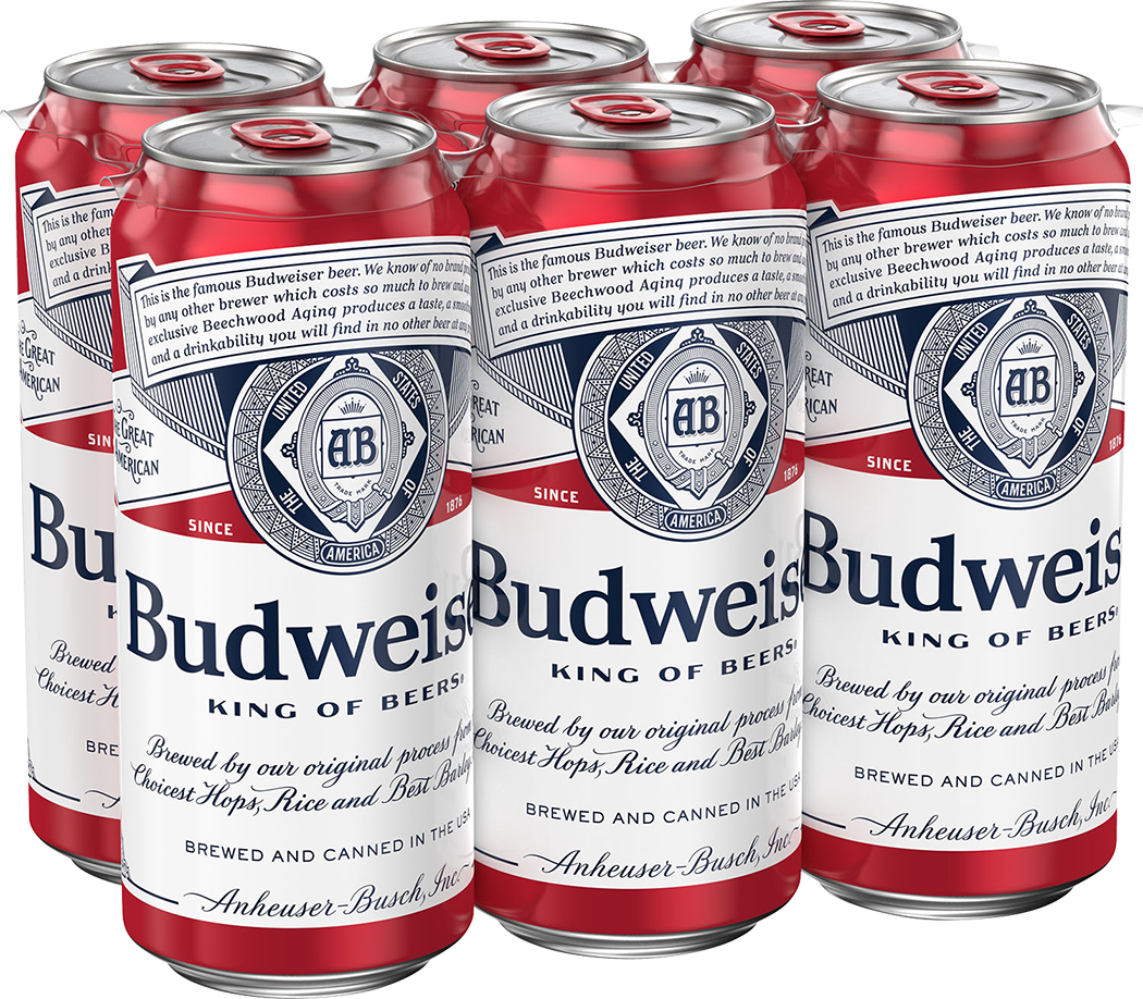 Bud 6pk can